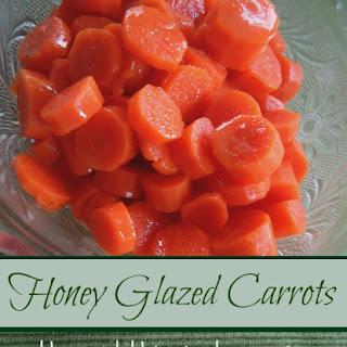 Honey Glazed CarrotsYum.