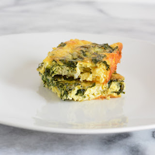 Kale and Cheddar Frittata.