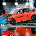 Real Prado Car Engine Crash 2018 - Death Driving