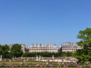 Photo: Tuilleries garden -Originally built for Catherine de Medici when she moved to the Louvre, modeled after Florence to make her feel at home. Climb the elevated park by the Seine for a nice view of Paris.