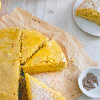Glazed Orange Cardamom Cake.