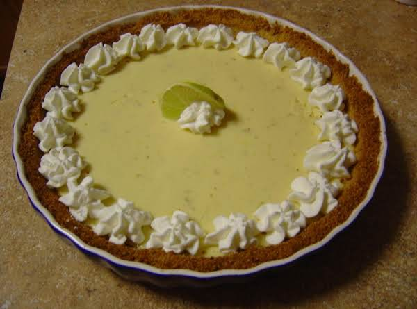The Boss's Key Lime Pie Recipe