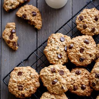 Flourless Oatmeal Peanut Butter Chocolate Chip Cookies Recipe