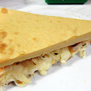 Garbanzo Flatbread.