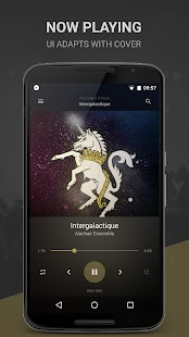 BlackPlayer Music Player Screenshot