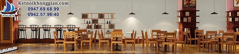 thiết kế quán cafe sách có mặt tiền rộng rãi