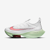 womens air zoom alphafly next% white/jade aura/flash crimson