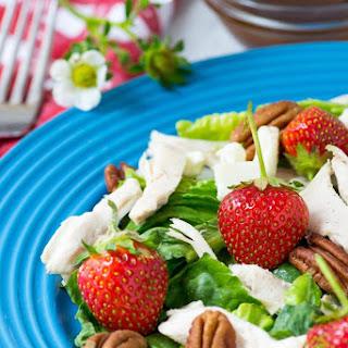 Strawberry Chicken Pecan Salad