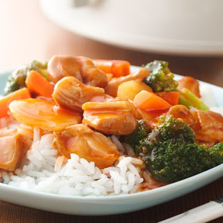 5-Ingredient Slow-Cooker Sweet and Sour Chicken.