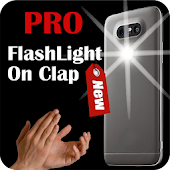👏👏 Pro Flashlight on Clap