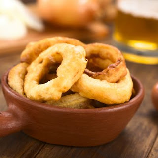 Crunchy Beer Battered Onion Rings