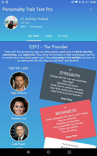Personality Trait Test 4.22 screenshots 10