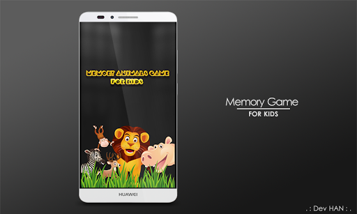 Memory Animals Game For Kids