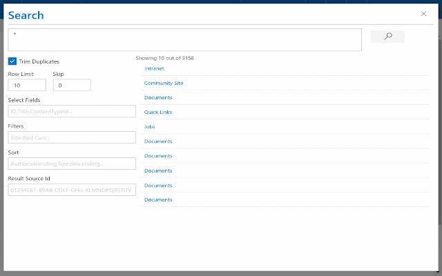 Chrome SP Dev Tools