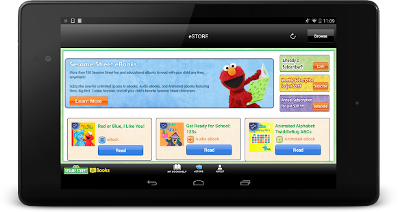 Sesame Street eBooks- screenshot thumbnail