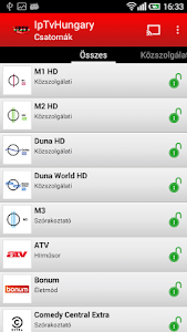 IpTvHungary screenshot 1