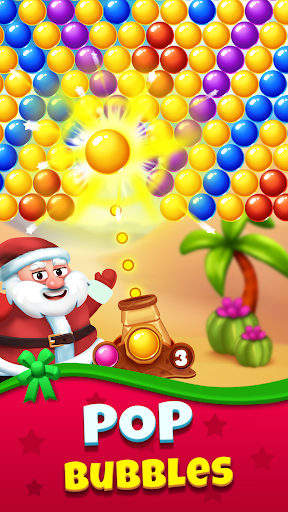 Christmas Games - Bubble Shooter 2020 apklade screenshots 2