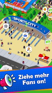 Sports City Tycoon Game - Sportspiel-Verwaltung Screenshot