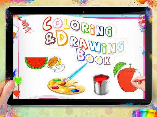Fruits Coloring Book - Kids Coloring Book 1.0.0 screenshots 12