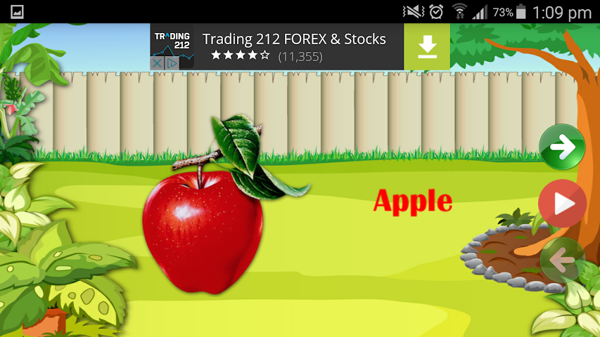 android Kids Learning Game ABC 123 Screenshot 1