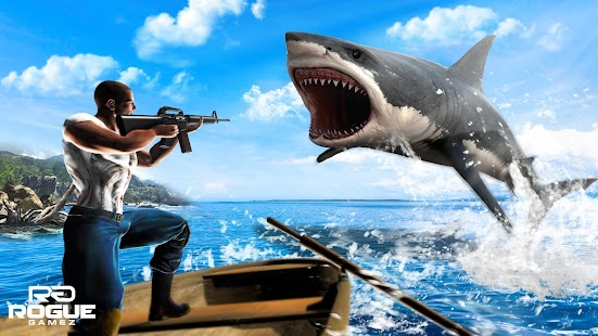 Underwater Angry Shark Hunting - náhled