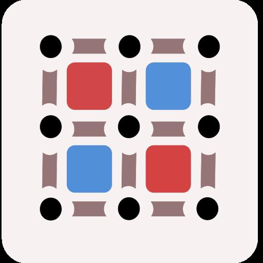 Dot Matrix 策略 LOGO-玩APPs