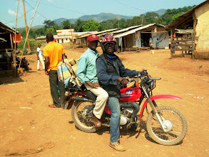Photo: Time to ride home. This is the motercycle our supporters bought earlier this year so that these precious people in Benakuma and Benade can hear the Gospel and be discipled by a small mission team each month. Thank you all!