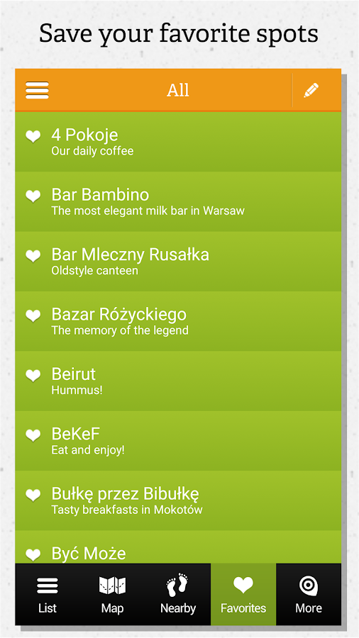 Warsaw guide by locals- screenshot