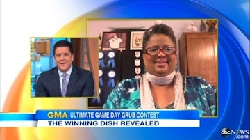 Just A Pinch All-Star Member Wins GMA Ultimate Game Day Grub Contest