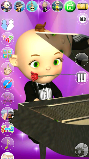 My Talking Baby Music Star 2.31.0 screenshots 11