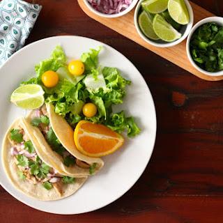 Slow Cooker Citrus Chicken Tacos