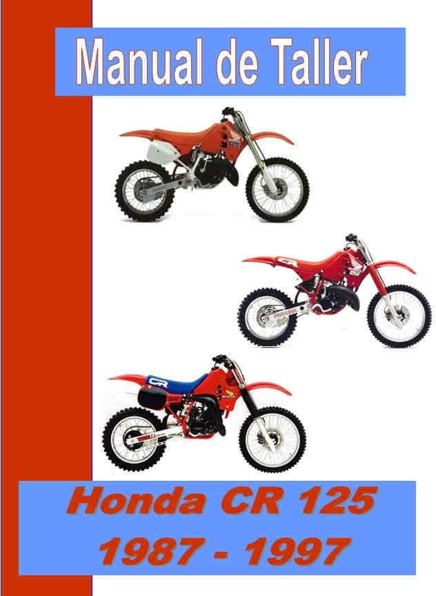 honda cr 125 -manual-taller-mecanica-despiece