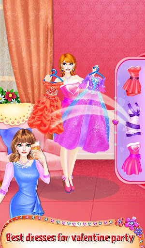 Princess Valentine Hair Style 1.0.2 screenshots 5