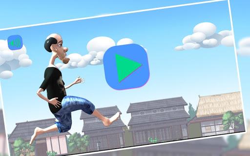 Risky Rooftop Dash:Thief Run