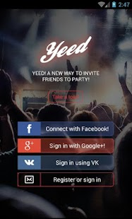 Yeed — Kiev & Odessa events- screenshot thumbnail