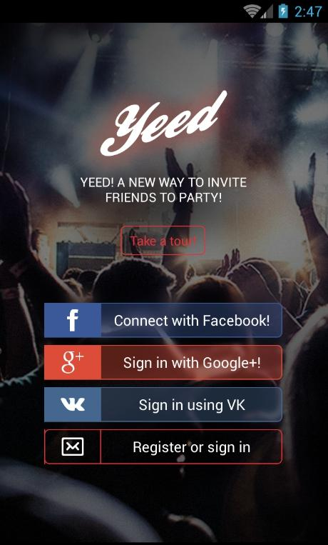 Yeed — Kiev & Odessa events- screenshot