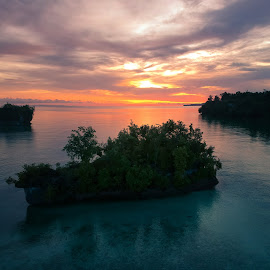 When the sky is crying by Satria Nugraha - Landscapes Beaches ( #biakpapua #papua #indonesiaphotography #dji,  )