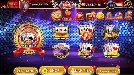Royal - Tien Len Mien Nam Online  captures d'u00e9cran 1