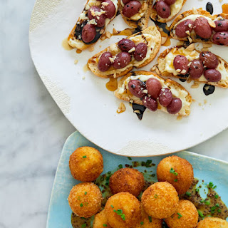 Brie Bites and Croquettes.