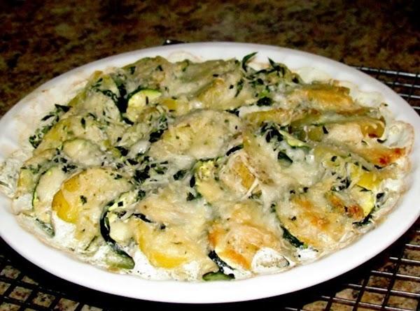 Zucchini And Potato Gratin Recipe