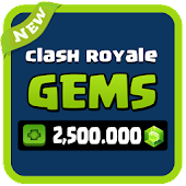 Gems for Clash Royale 💎 Prank