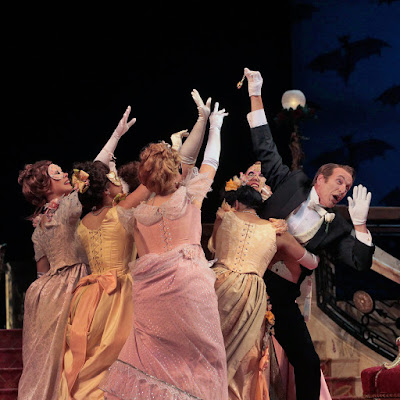 """Ned Canty's Die Fledermaus: """"A pleasant, persistent buzz of happiness."""""""