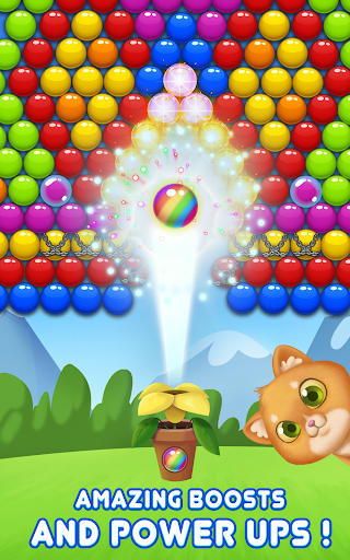 Bubble Shooter Cat