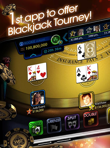 World Blackjack Tournament - WBT Screenshot