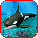Blue Whale Attack Angry: Shark Attack Games 2019 icon
