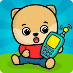 Baby phone kids games - animal sounds for toddlers Icon