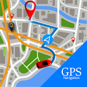 Voice GPS Driving Route : GPS Navigation Maps Free