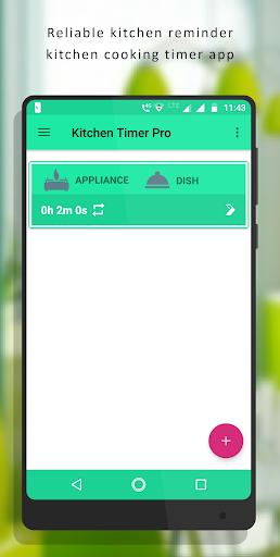 Screenshot for Kitchen Timer Pro - Kitchen Reminder Timer in Hong Kong Play Store