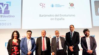 Presentación en Madrid del Barómetro del Enoturismo en España