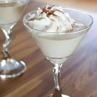 {White Christmas} Chocolate Martini.